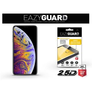 EazyGuard LA-1399 2.5D iPhone XS MAX fekete kijelzővédő fólia
