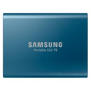Samsung 250GB USB 3.1 (MU-PA250B/EU) kék T5 külső SSD PC