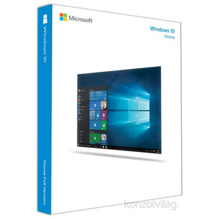 Microsoft Windows 10 Home 64-bit GER 1 Felhasználó Oem 1pack operációs rendszer szoftver PC