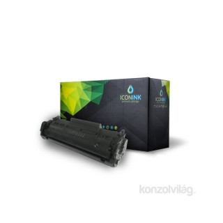 Iconink HP Q2612A Canon FX9  FX10  CRG-303  CRG-304 utángyártott 2000 oldal fekete toner PC