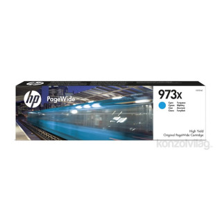 HP F6T81AE (973XL) cián tintapatron PC