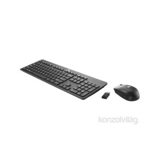 HP Wireless Business Slim Keyboard and Mouse billentyűzet PC