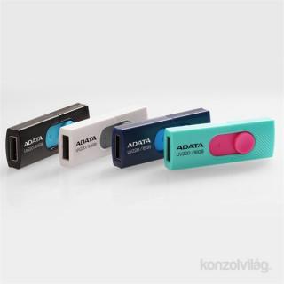 ADATA 8GB USB2.0 Fekete-Kék (AUV220-8G-RBKBL) Flash Drive PC