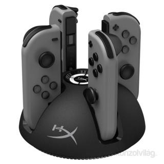 HyperX ChargePlay Quad Nintendo Switch kontroller töltő állomás (HX-CPQD-U) Switch