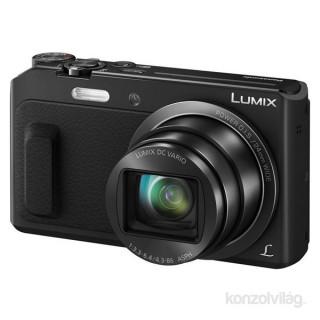 Panasonic DMC-TZ57EP-K fekete digitális fényképezőgép Fotó, videó