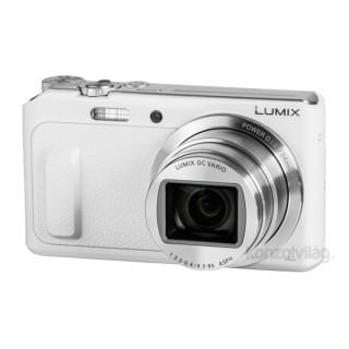 Panasonic DMC-TZ57EP-W Fehér digitális fényképezőgép Fotó, videó