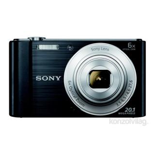 Sony DSC-W810B fekete digitális fényképezőgép