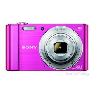 Sony DSC-W810P rózsaszín digitális fényképezogép