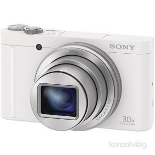 Sony DSC-WX500W fehér digitális fényképezőgép