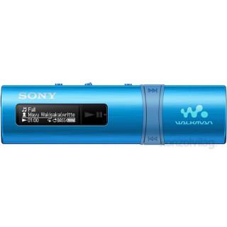 Sony NWZB183FL.CEW kék MP3 lejátszó FM rádióval