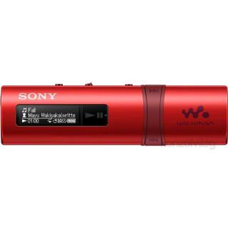 Sony NWZB183FR.CEW piros MP3 lejátszó FM rádióval