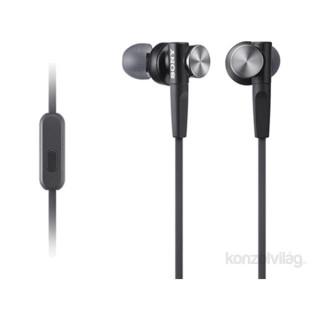 Sony MDRXB50APB.CE7 Extra Bass fekete mikrofonos fülhallgató Mobil