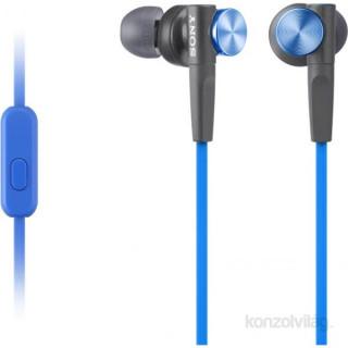 Sony MDRXB50APL.CE7 Extra Bass kék mikrofonos fülhallgató Mobil