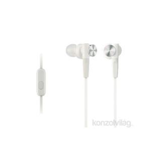 Sony MDRXB50APW.CE7 Extra Bass fehér mikrofonos fülhallgató Mobil