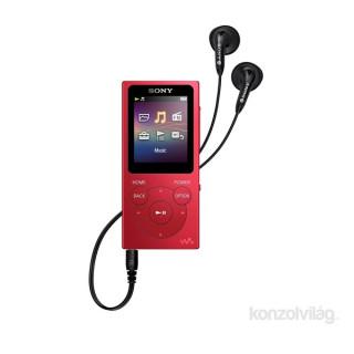 SONY NWE393R.CEW 4GB piros MP3 lejátszó