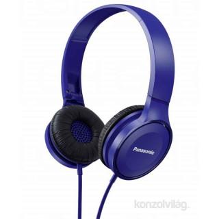 Panasonic RP-HF100E-A kék fejhallgató PC