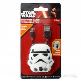 Lazerbuilt CBSW-USB-TROOPER Star Wars Trooper micro USB - USB adatkábel PC