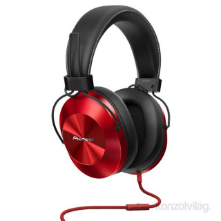 Pioneer SE-MS5T-R piros fejhallgató PC