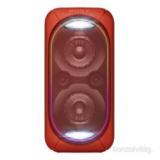 Sony GTKXB60R Bluetooth piros hangszóró Mobil