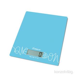 Momert 6854 kék üveglapos konyhamérleg Otthon