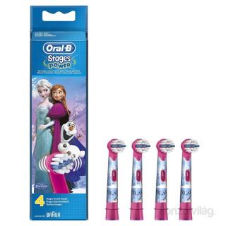 Oral-B EB10-4 Frozen gyermek fogkeféhez pótfej Otthon