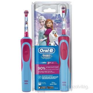 Oral-B D12.513 Vitality Frozen elektromos gyerek fogkefe + ceruzatartó Otthon