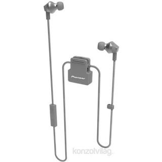 Pioneer SE-CL6BT-H szürke cseppálló aptX Bluetooth fülhallgató headset Mobil