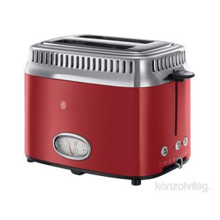 Russell Hobbs 21680-56/RH Retro piros kenyérpirító
