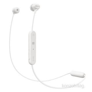 Sony WIC300W Bluetooth fehér fülhallgató headset Mobil