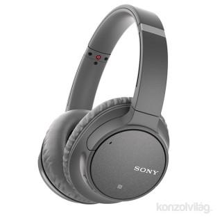 Sony WHCH700NH Bluetooth szürke zajszűrős fejhallgató PC