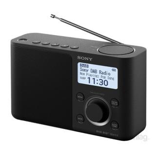 Sony XDRS61 hálózati töltős fekete FM rádió