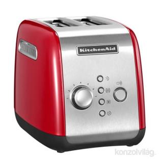 KitchenAid 5KMT221EER piros kenyérpirító + 5KEK1222EER piros vízforraló csomag Otthon