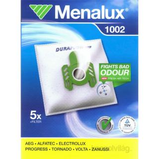 Menalux 1002 5 db szintetikus porzsák + 1 microfilter