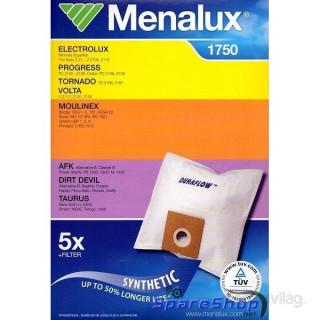 Menalux 1750 5 db szintetikus porzsák + 1 microfilter