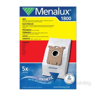 Menalux 1800 5 db szintetikus porzsák + 1 microfilter