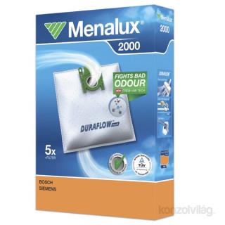 Menalux 2000 5 db szintetikus porzsák + 1 microfilter