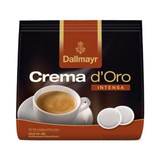 Dallmayr Crema dOro Intensa Pad 16 db 112 g Otthon