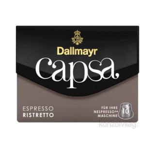 Dallmayr Espresso Ristretto Nespresso kompatibilis kávé kapszula 10 db Otthon