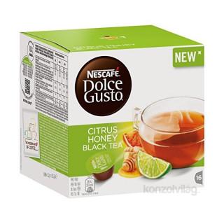 Nescafé Dolce Gusto Citrus-, méz- és gyömbérízű fekete tea 16 kapszula Otthon