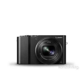 Panasonic DMC-TZ100EPK Fekete digitális fényképezőgép Fotó, videó