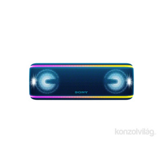 Sony SRS-XB41L kék vízálló Bluetooth hangszóró PC