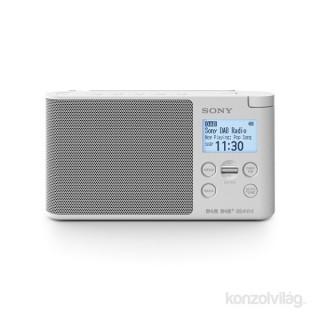 Sony XDRS41DW hálózati töltős fehér FM rádió