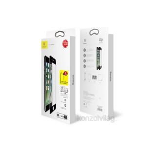 Baseus Diamond body iPhone 7/8 fehér 0.3mm edzettüveg kijelzővédő fólia Mobil
