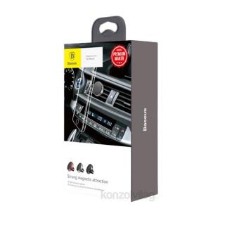 Baseus Magnetic Car univerzális mágneses fekete autós telefon tartó Mobil
