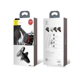 Baseus Magnetic Air Vent univerzális mágneses ezüst autós telefon tartó Mobil
