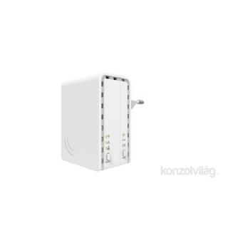 MikroTik PL7411-2nD PWR-LINE AP 1x FE LAN port 2,4GHz wireless integrált antenna