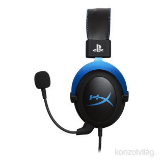 HyperX Cloud 3,5 Jack PS4 gamer headset (HX-HSCLS-BL-EM) Több platform