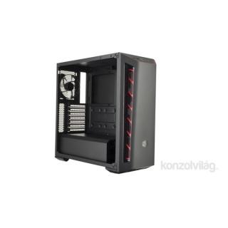 Cooler Master MasterBox B510L fekete-piros ATX ház PC