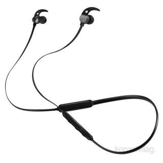 ACME BH107 fekete Bluetooth nyakpántos fülhallgató headset Mobil