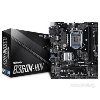 ASRock B360M-HDV Intel B360 LGA1151 mATX alaplap PC